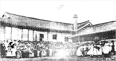 북문안 시절의 양림교회