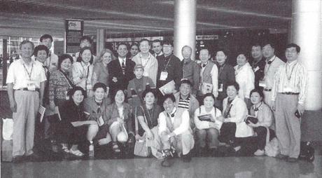 싱가포르 국제세미나에 참석한 양림교회 성도들