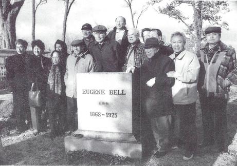 100주년 기념식 후 선교사 묘지 탐방